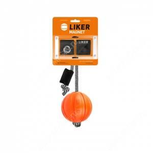 Мячик Collar Liker (Лайкер) корд на шнуре с комплектом магнитов, 9 см