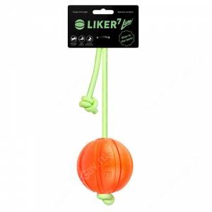 Мячик Collar Liker Lumi (Лайкер Люми) корд на шнуре, 7 см