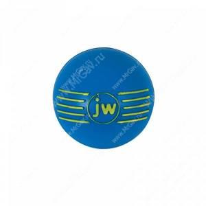 Мячик с пищалкой iSqueak Ball из каучука, средний, синий