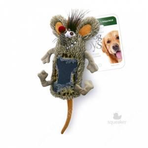 Мышь с большой пищалкой GiGwi