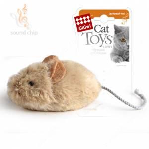 Мышка GiGwi со звуковым чипом