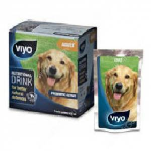 Напиток-пребиотик Viyo для взрослых собак, 7*30 мл