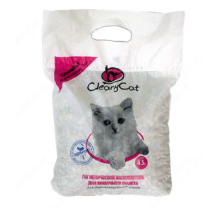 Наполнитель CleanyCat для длинношерстных кошек, 4,5 л