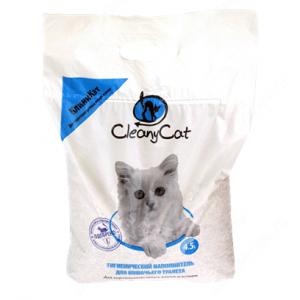 Наполнитель CleanyCat для короткошерстных кошек, 4,5 л