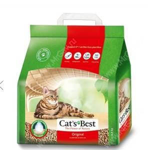 Наполнитель древесный Cat's Best Eko plus комкующийся
