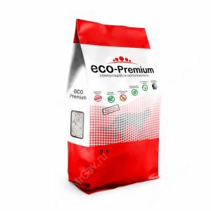 Наполнитель древесный Eco-Premium Blue комкующийся