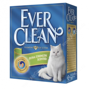 Наполнитель Ever Clean Extra Strength Scented, 10 кг