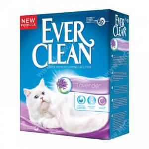 Наполнитель Ever Clean Lavender комкующийся, Лаванда