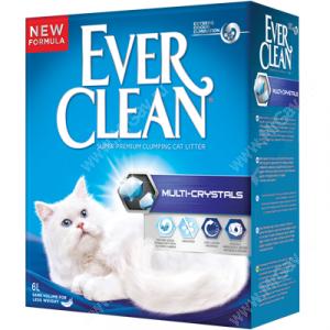 Наполнитель Ever Clean Multi Crystals комкующийся, 6 л
