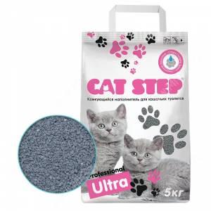 Наполнитель комкующийся Cat Step Professional Ultra, 5 кг