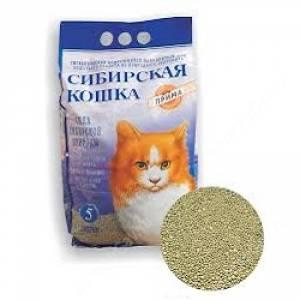 Наполнитель комкующийся Сибирская кошка Прима