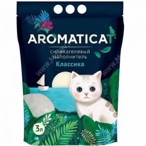 Наполнитель силикагелевый AromatiCat Классика