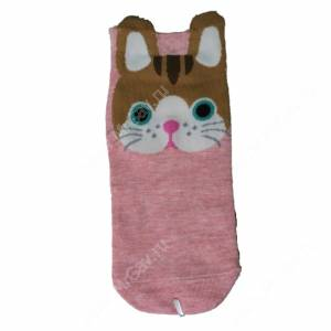 Носки женские Кошечки, розовый, р. 36-40