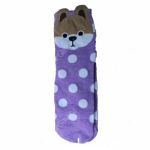 Носки женские Сиба ину, фиолетовый, р. 36-40