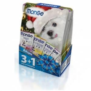 Новогодний набор для собак Monge Grill 3+1