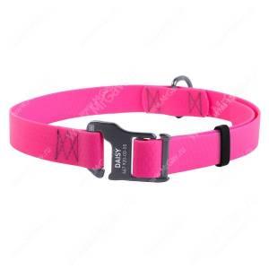 Ошейник биотановый Collar Waudog Waterproof, 50 см*2 см, розовый