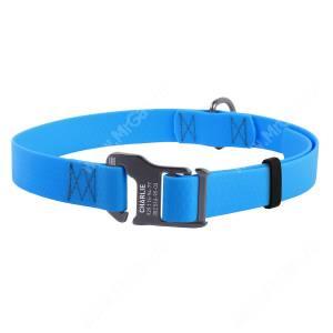 Ошейник биотановый Collar Waudog Waterproof, 70 см*2,5 см, голубой