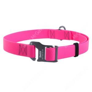 Ошейник биотановый Collar Waudog Waterproof, 70 см*2,5 см, розовый