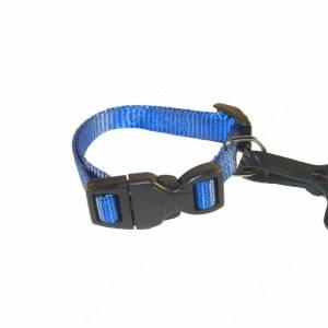 Ошейник нейлоновый Ferplast Club, 32 см*1 см, синий