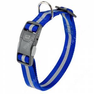 Ошейник нейлоновый Ferplast Club Reflex, 70 см*2,5 см, синий