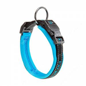 Ошейник нейлоновый Ferplast Sport, 43 см*2 см, синий