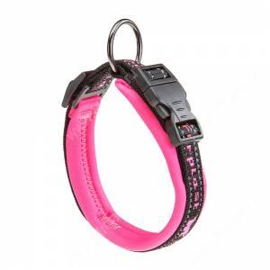 Ошейник нейлоновый Ferplast Sport, 55 см*2,5 см, розовый