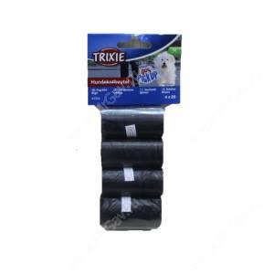 Пакеты для уборки за собаками Trixie, 3 л, 4 рулона по 20 шт., черные