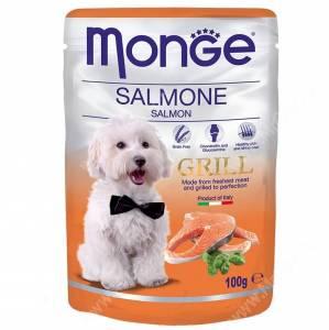 Пауч Monge Dog Grill Pouch (Лосось), 100 г