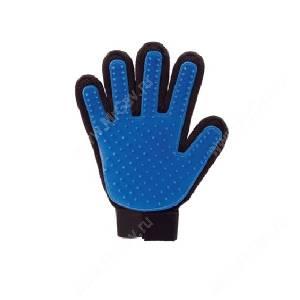 Перчатка для вычесывания шерсти OSSO