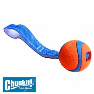 Перетяжка с теннисным мячом Ультра CHUCKIT! Ultra tug, средняя