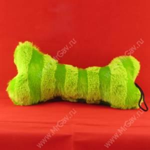 Плюшевая кость, зеленая