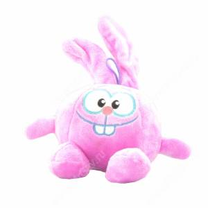 Плюшевый Зайчик, 22 см, фиолетовый