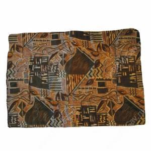 Подстилка Дарэлл, 90 см*64 см*2 см, коричневый орнамент