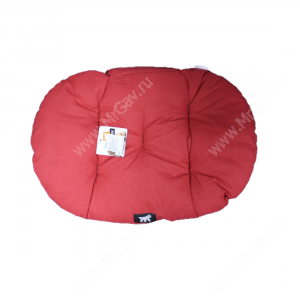 Подушка Ferplast Relax С45, 48 см*32 см*5 см, красно-серая