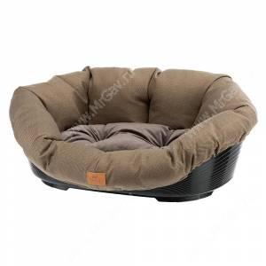 Подушка Ferplast Sofa Tweed 4, 64 см*48 см*25 см, коричневая