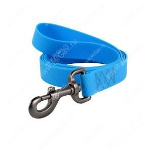 Поводок биотановый Collar Waudog Waterproof, 1,22 м*1,5 см, голубой