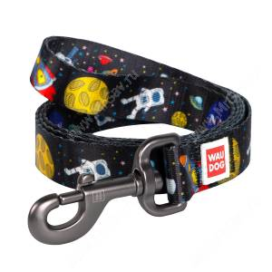 Поводок Collar WAUDOG Nylon NASA, 122 см*1,5 см