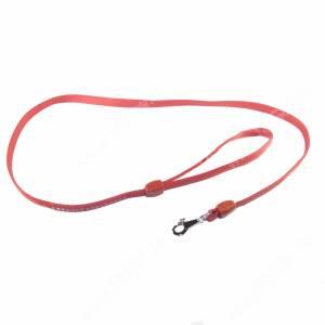 Поводок кожаный Ferplast Lux, 120 см*1,2 см, красный