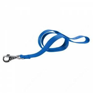 Поводок нейлоновый Ferplast Club, 120 см*1 см, синий