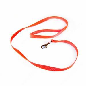 Поводок нейлоновый Ferplast Club, 120 см*1,5 см, оранжевый