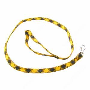 Поводок нейлоновый Ferplast Yuppy, 120 см*1,5 см, желтый