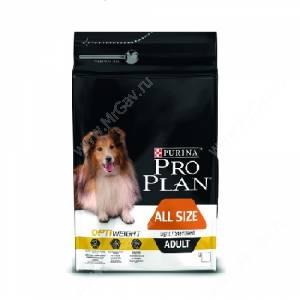Pro Plan All Size Adult Light/ Sterilised (Курица с рисом)