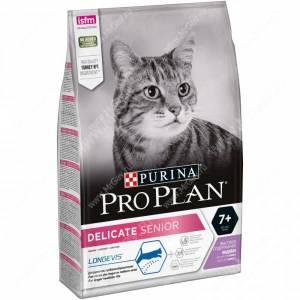 Pro Plan Delicate Cat 7+ (Индейка)