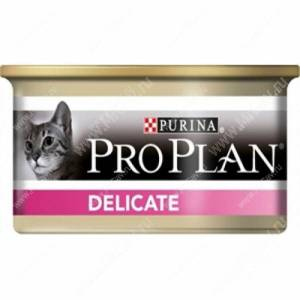 Pro Plan Delicate Cat (Индейка), консерва
