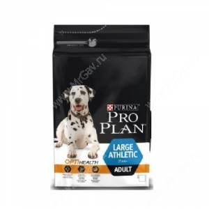Pro Plan Large Adult Athletic (Курица с рисом)