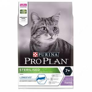 Pro Plan Sterilized Cat 7+ (Индейка)