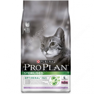 Pro Plan Sterilized Cat (Индейка)
