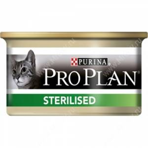 Pro Plan Sterilized Cat (Тунец), консерва, 85 г