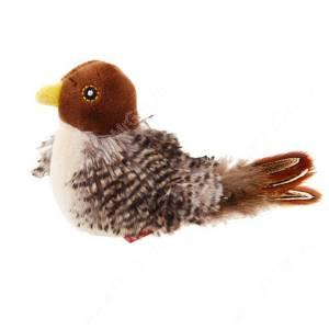 Птичка со звуковым чипом и кошачьей мятой GiGwi