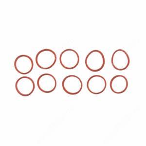 Резинки для челки красные